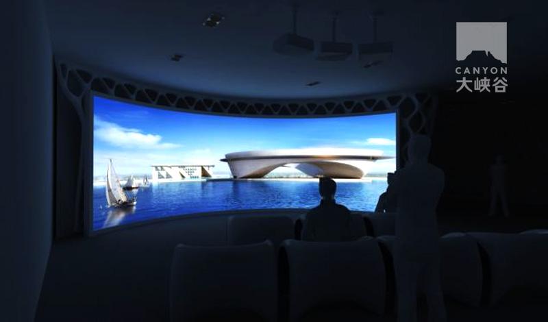 半山半岛文化展厅设计-1393832353838