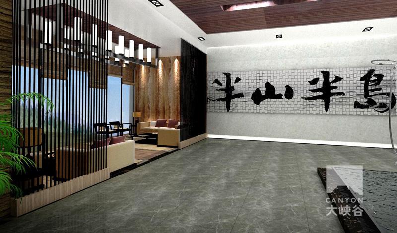 半山半岛文化展厅设计-13938323556748