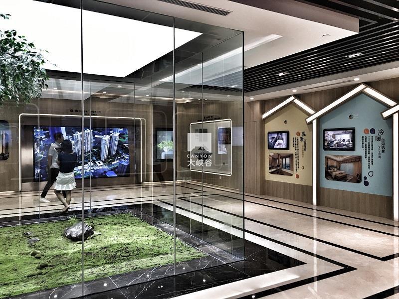 深圳中粮大悦城_中粮·天悦壹号工法展厅设计- 深圳市大峡谷科技发展有限公司