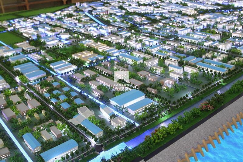 启东滨海工业园规划互动沙盘总体模型-IMG_8568