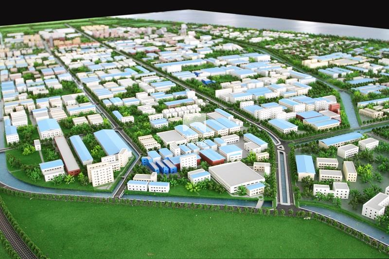 启东滨海工业园规划互动沙盘总体模型-IMG_8573