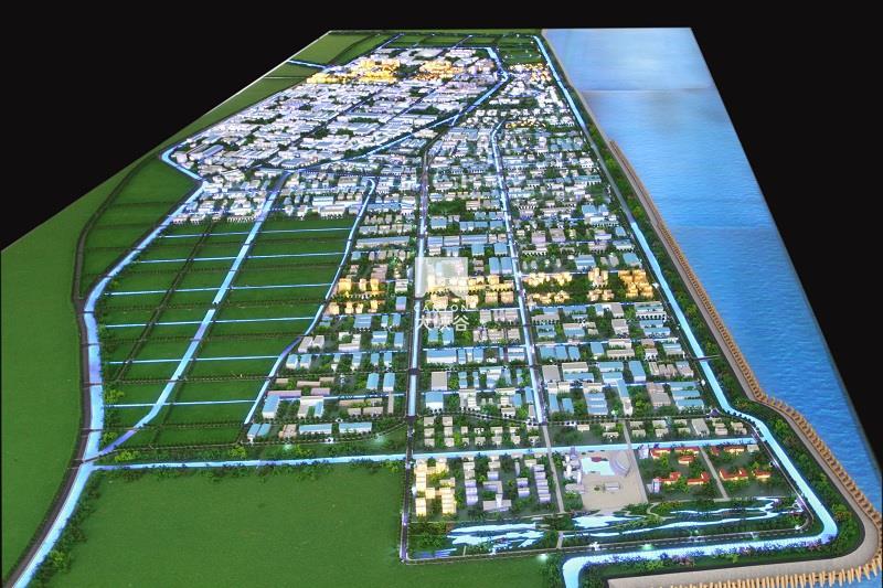 启东滨海工业园规划互动沙盘总体模型-IMG_8599