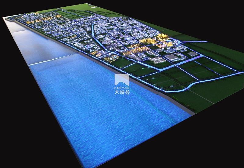启东滨海工业园规划互动沙盘总体模型-IMG_8617