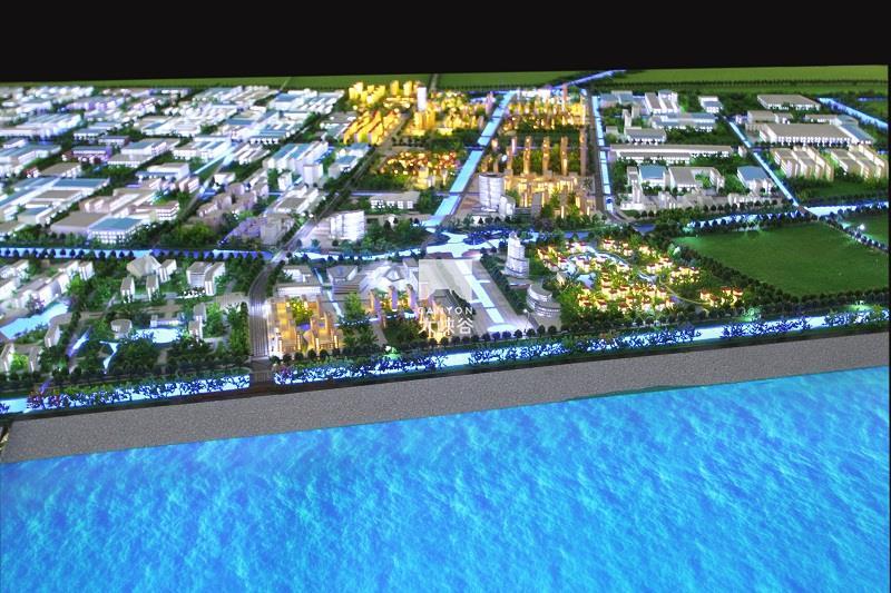 启东滨海工业园规划互动沙盘总体模型-IMG_8626