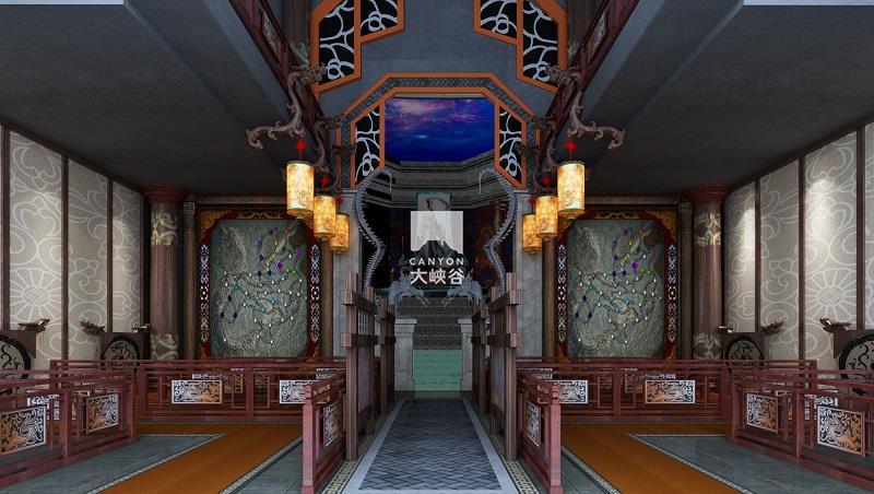 蔡家坡·三国主题游乐园-排队区