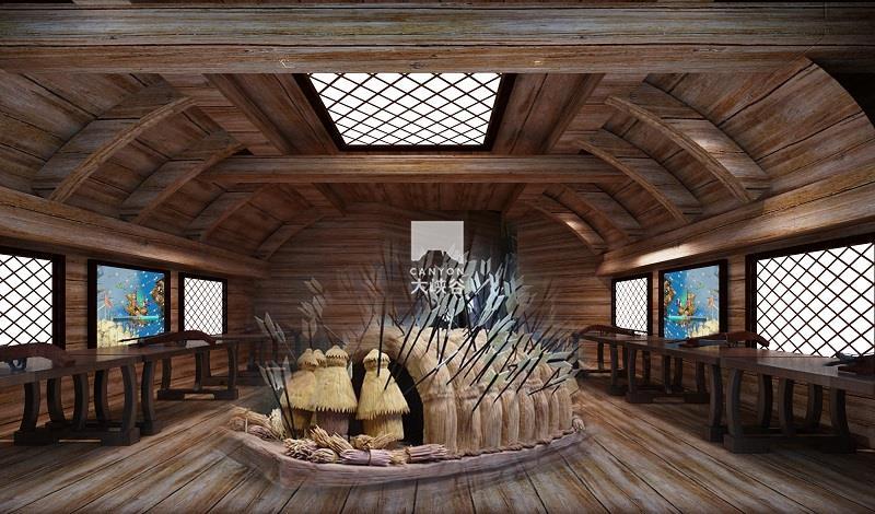 蔡家坡·三国主题游乐园-草船借箭
