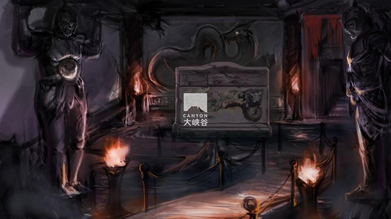 成都欢乐谷临时鬼屋-图片1