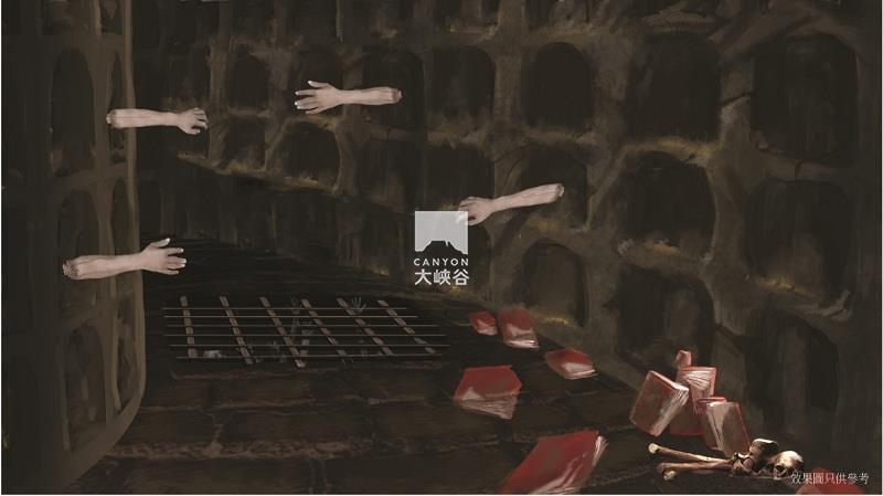 成都欢乐谷临时鬼屋-图片2