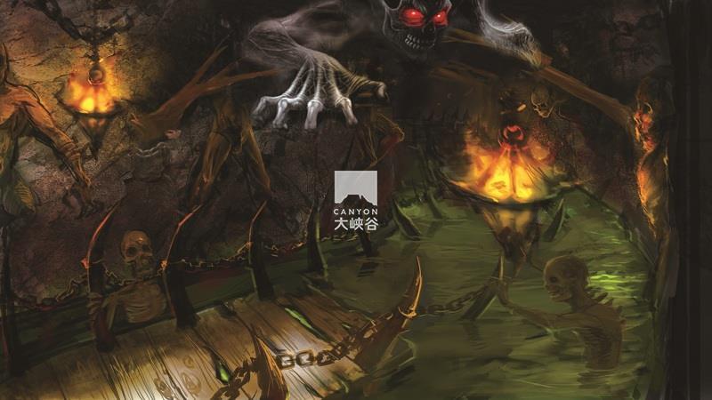 乐华·欢乐世界·盗墓鬼屋-冥界河