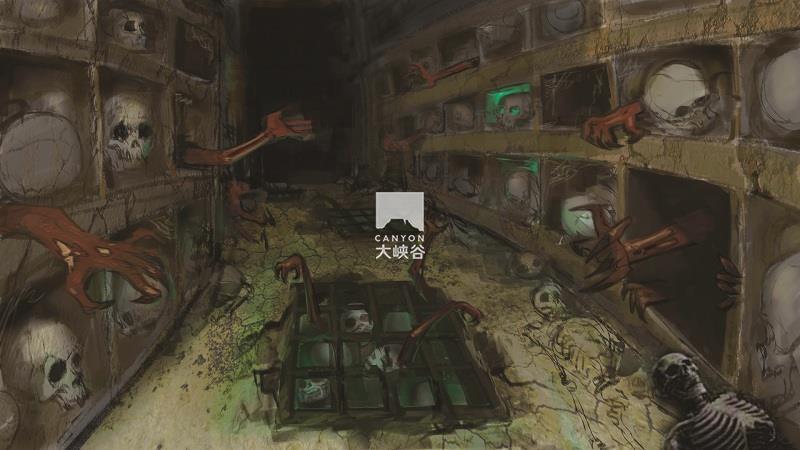 乐华·欢乐世界·盗墓鬼屋-殉葬坑