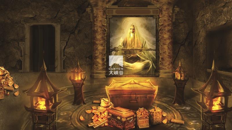 乐华·欢乐世界·盗墓鬼屋-藏宝室