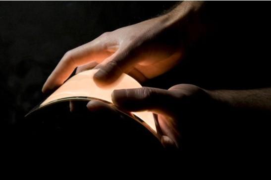 歐盟研制出采用透明樹脂電極的軟性OLED照明面板