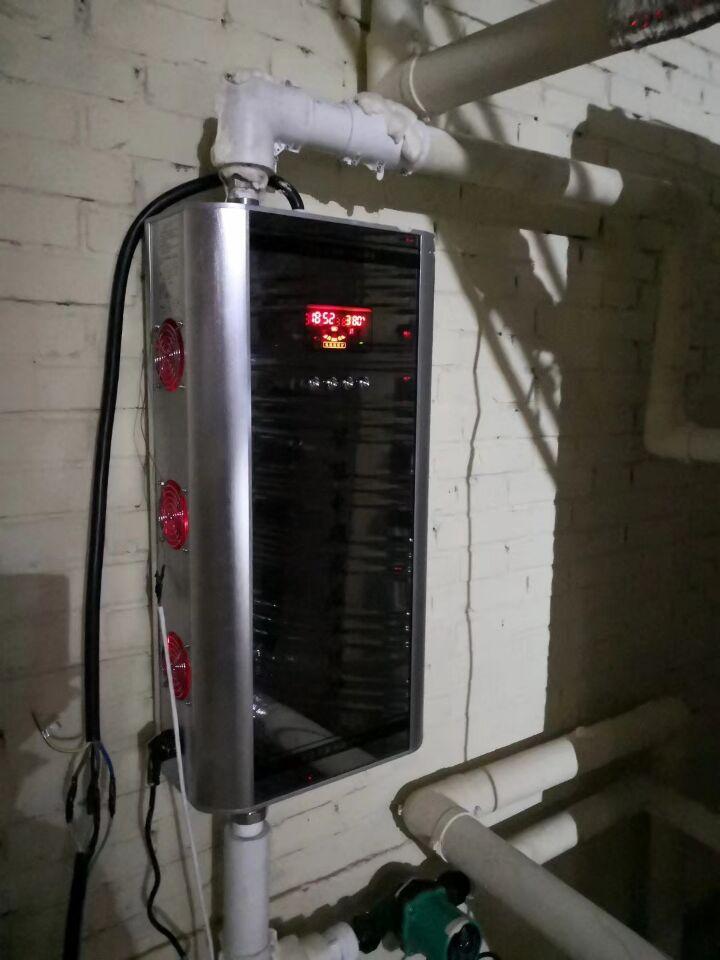 80平方电磁采暖炉供暖