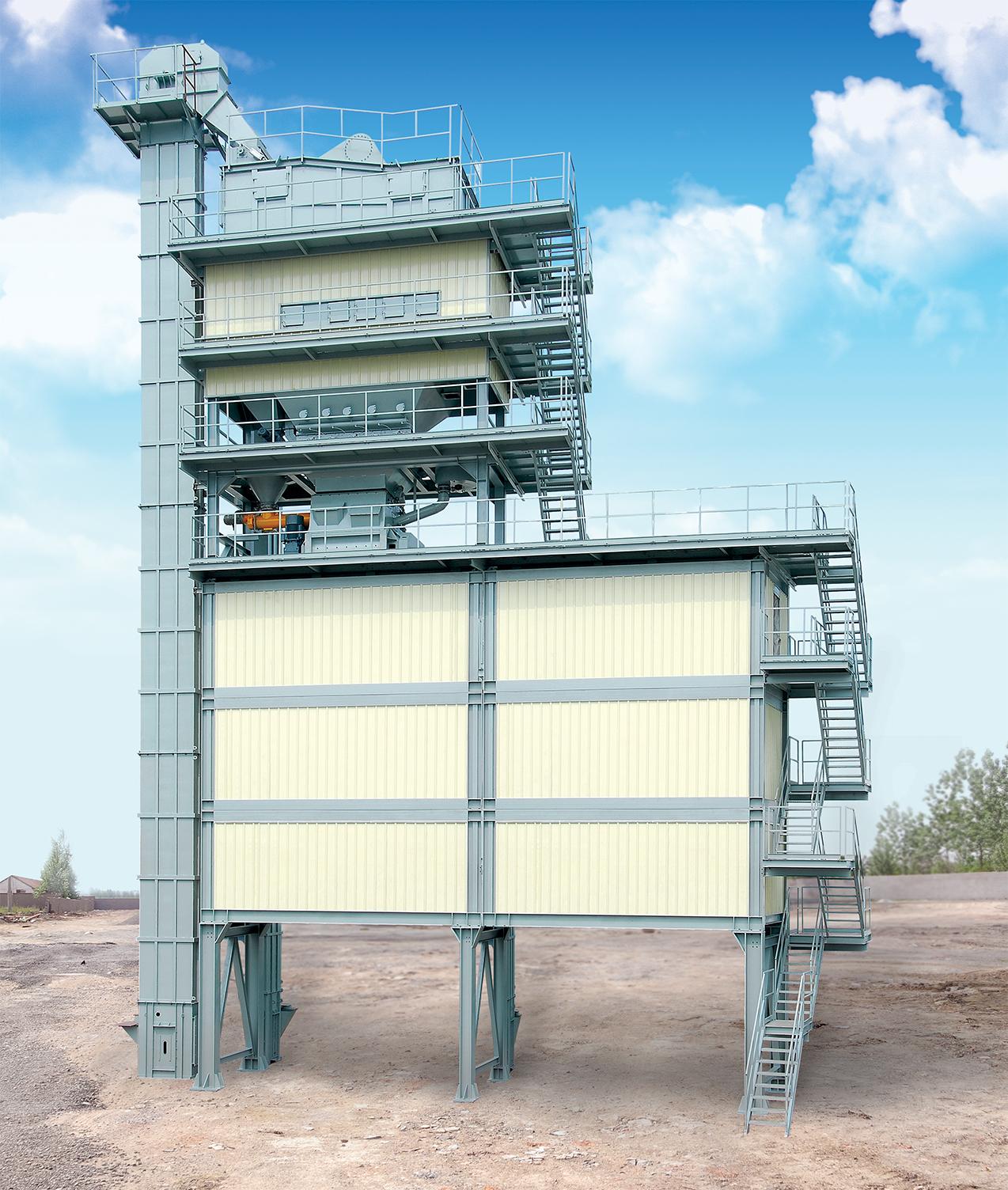 LBP旁置底置式成品料倉式瀝青攪拌設備