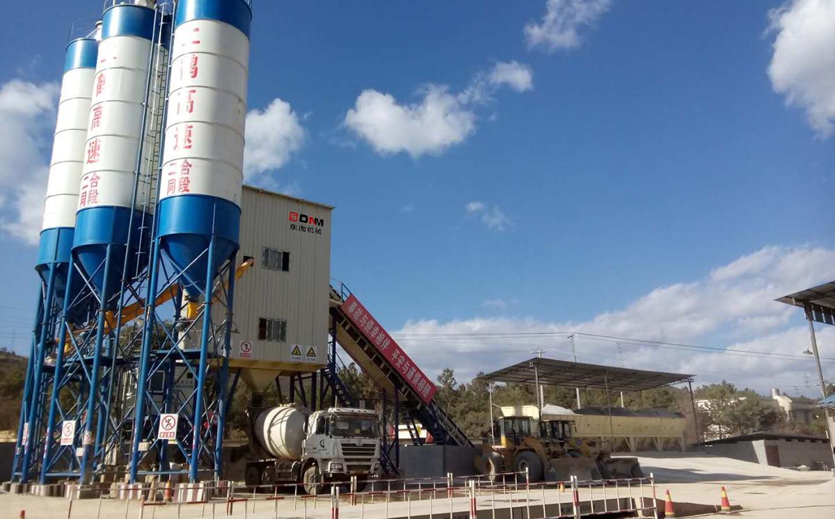 混凝土攪拌站及穩定土廠拌設備工程案例