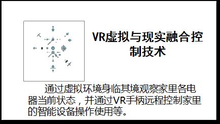 VR虚拟与现实融合控制技术