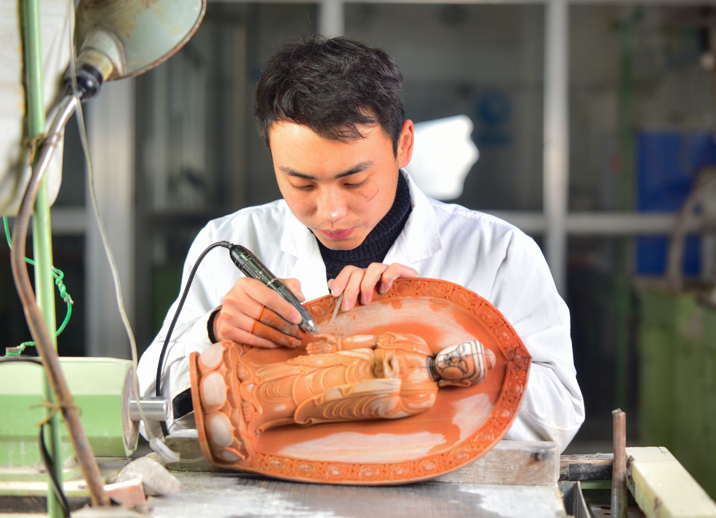蔡文凯-青年雕刻大师