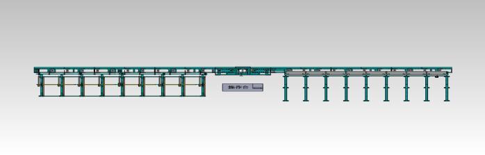 TS-09A無縫鋼管渦流-漏磁聯合探傷系統