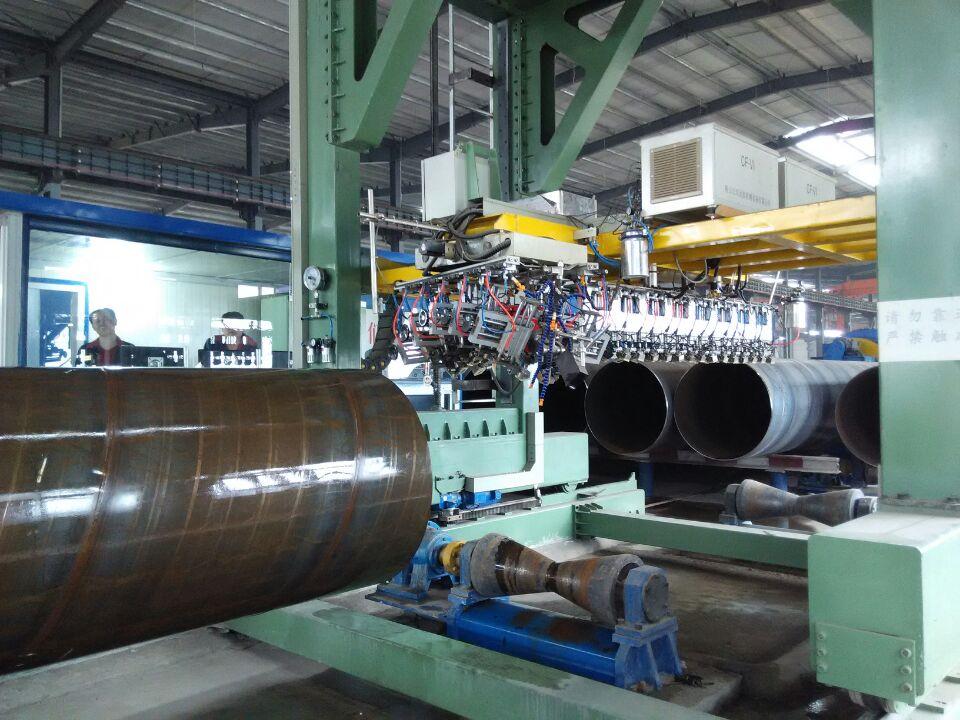 螺旋管全管體多通道超聲波探傷系統
