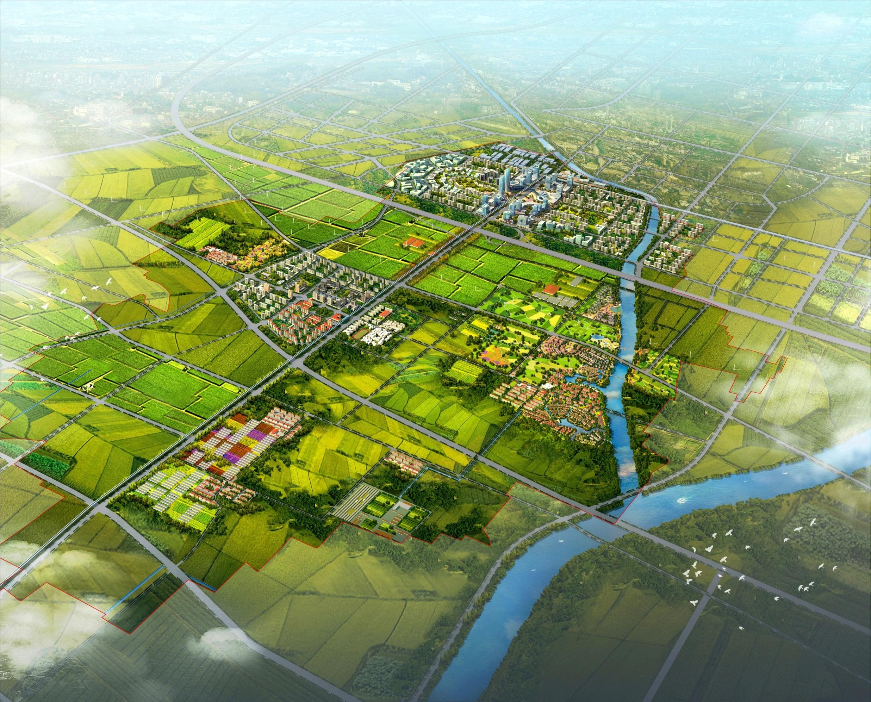 北京房山区良乡新城整体开发