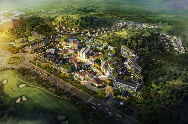 贵州兴义万峰谷旅游小镇项目