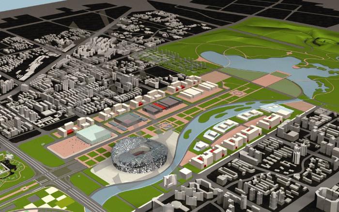 奥林匹克公园中心区地下商业中心