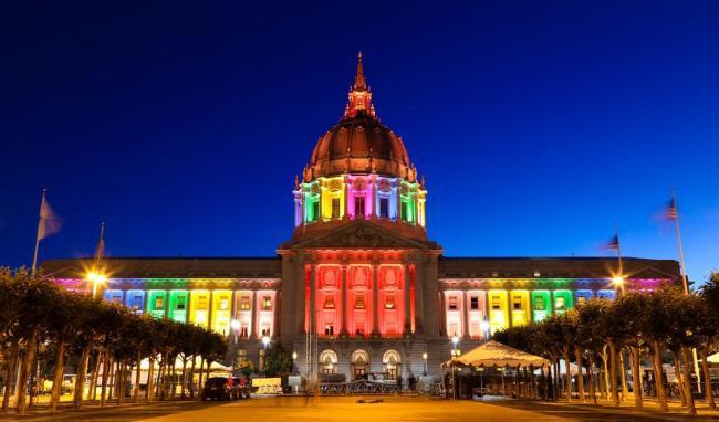旧金山市政厅2此图作封面