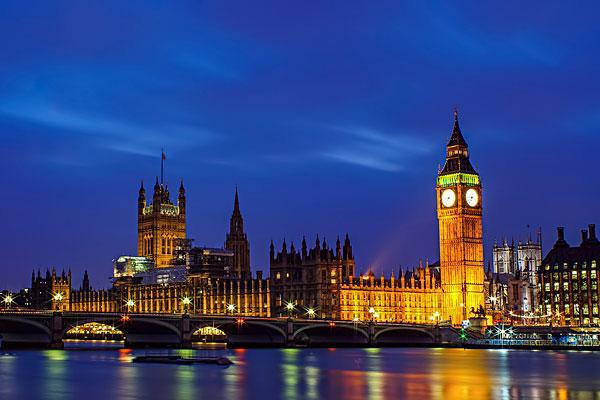 伦敦大本钟夜景6
