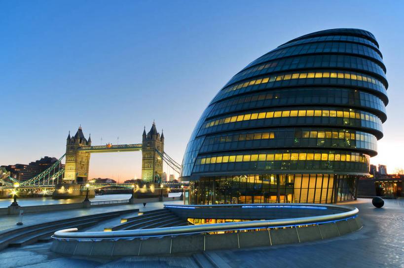 英国市政厅图片