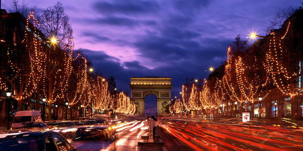 巴黎凯旋门h