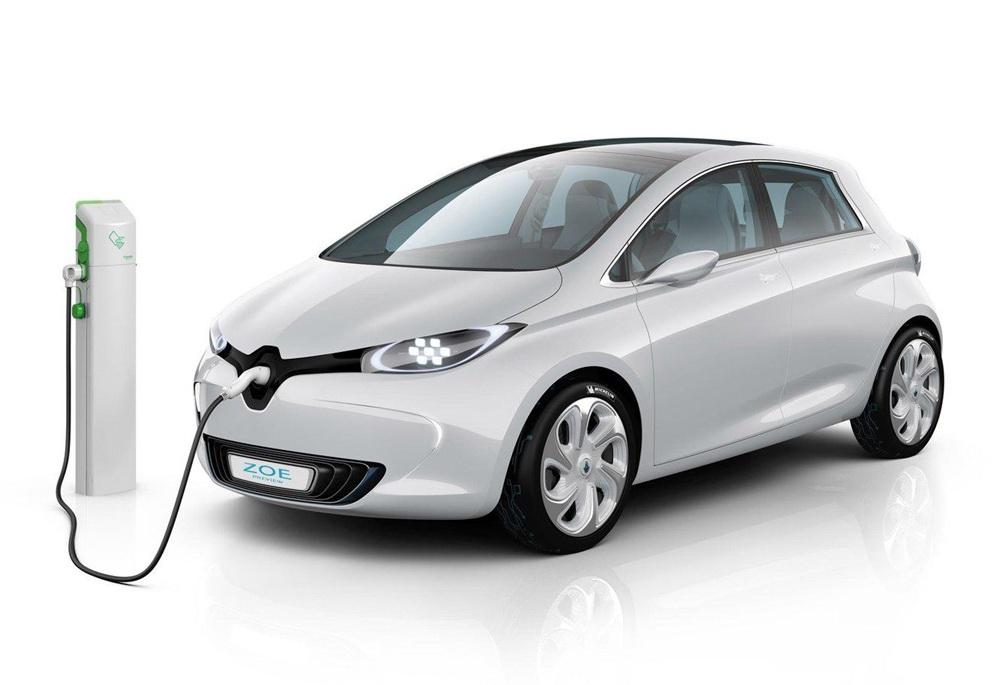 德国雷诺ZOEZ.E零排放多功能智能充电电动汽车
