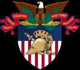 """美国军事学院常被称为西点军校。西点军校是美国第一所军事学校,校训是""""责任、荣誉、国家"""""""