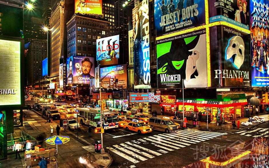 纽约百老汇