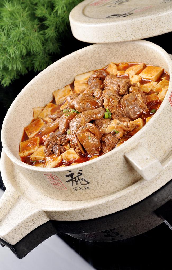 豆腐燒牛腩