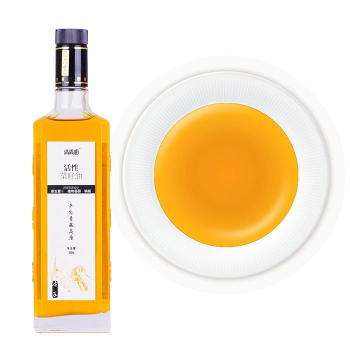 活性菜籽油500ml