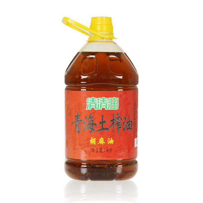 土榨胡麻4L