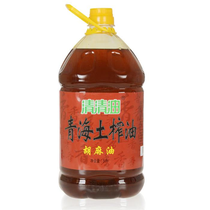 土榨胡麻5L