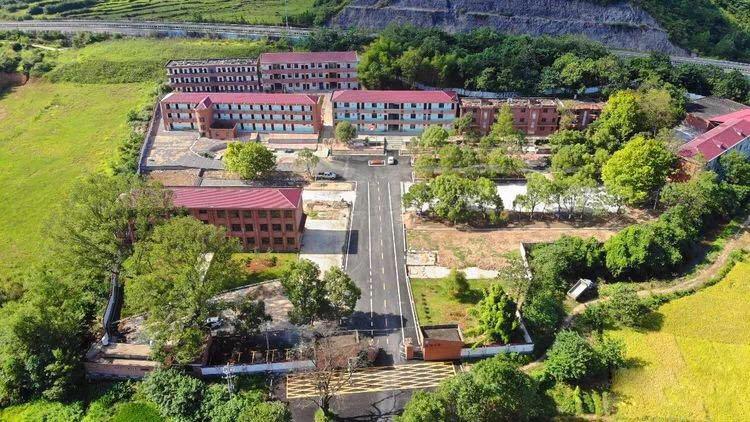 蓮洲中學鳥瞰圖