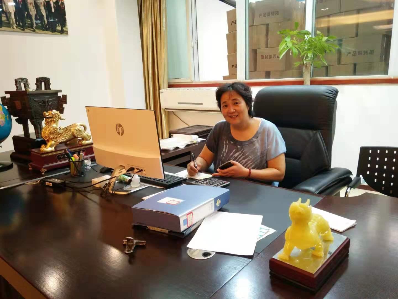 觀行包裝印務部負責人、樂邦包裝制品公司總經理張志萍