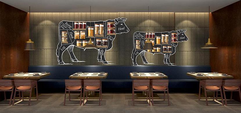 牛肉店餐店