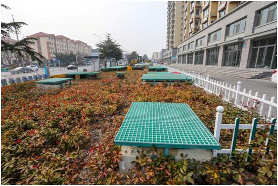 山東榮成市雙泊片區棚戶改造中水回用項目