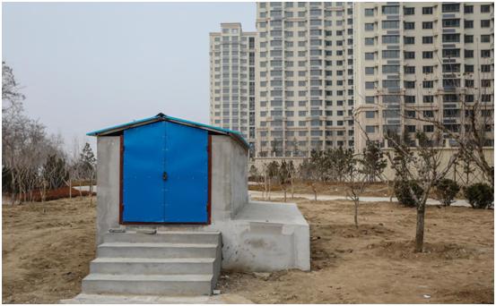 4、山東榮成市城中村改造項目中水收集回