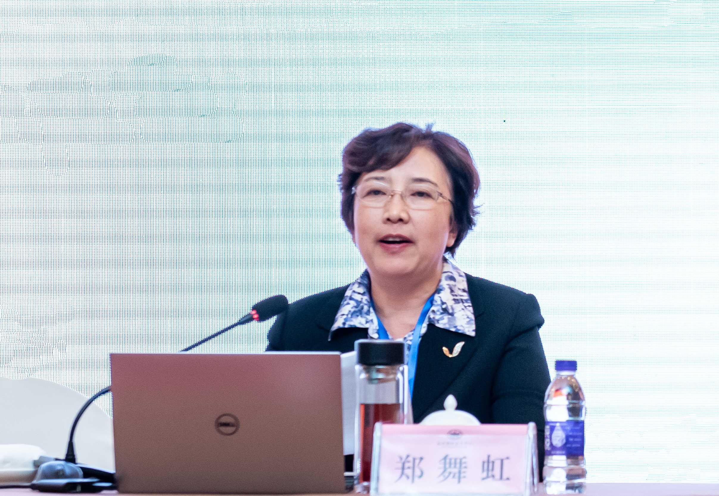 鄭舞虹當選中國日用玻璃協會理事長