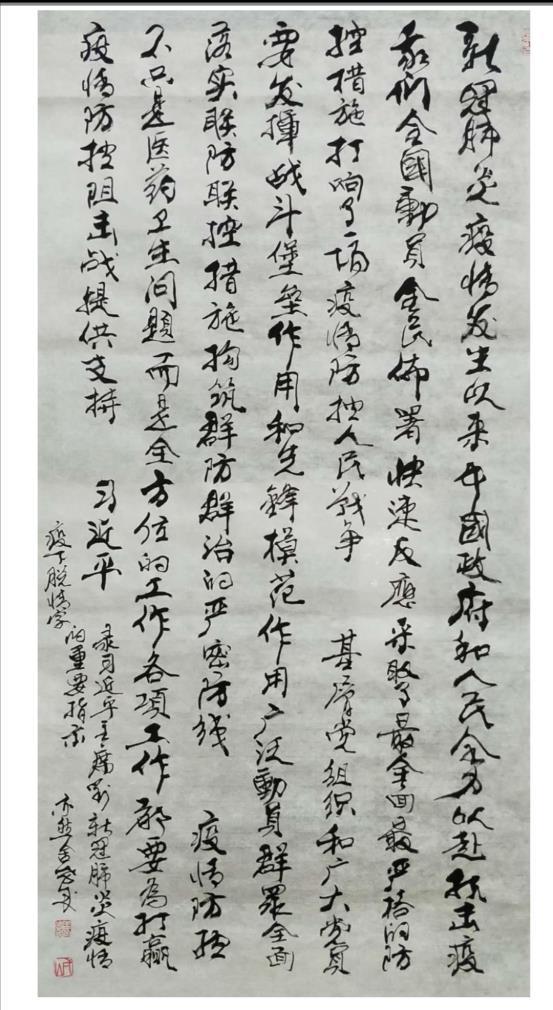 王孝诚 习近平总书记指示战疫工作
