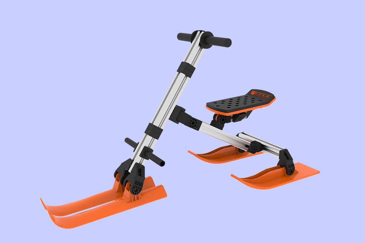 01四轮骑行滑雪车