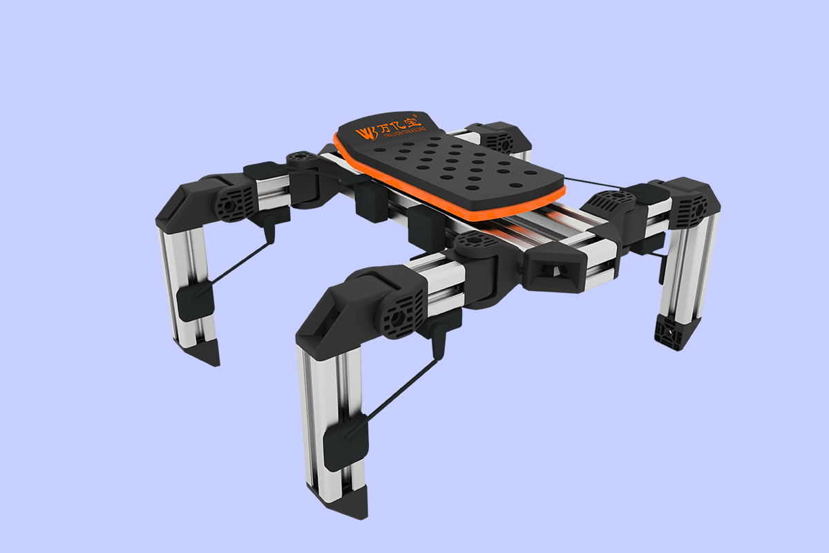 06智能多足机器人