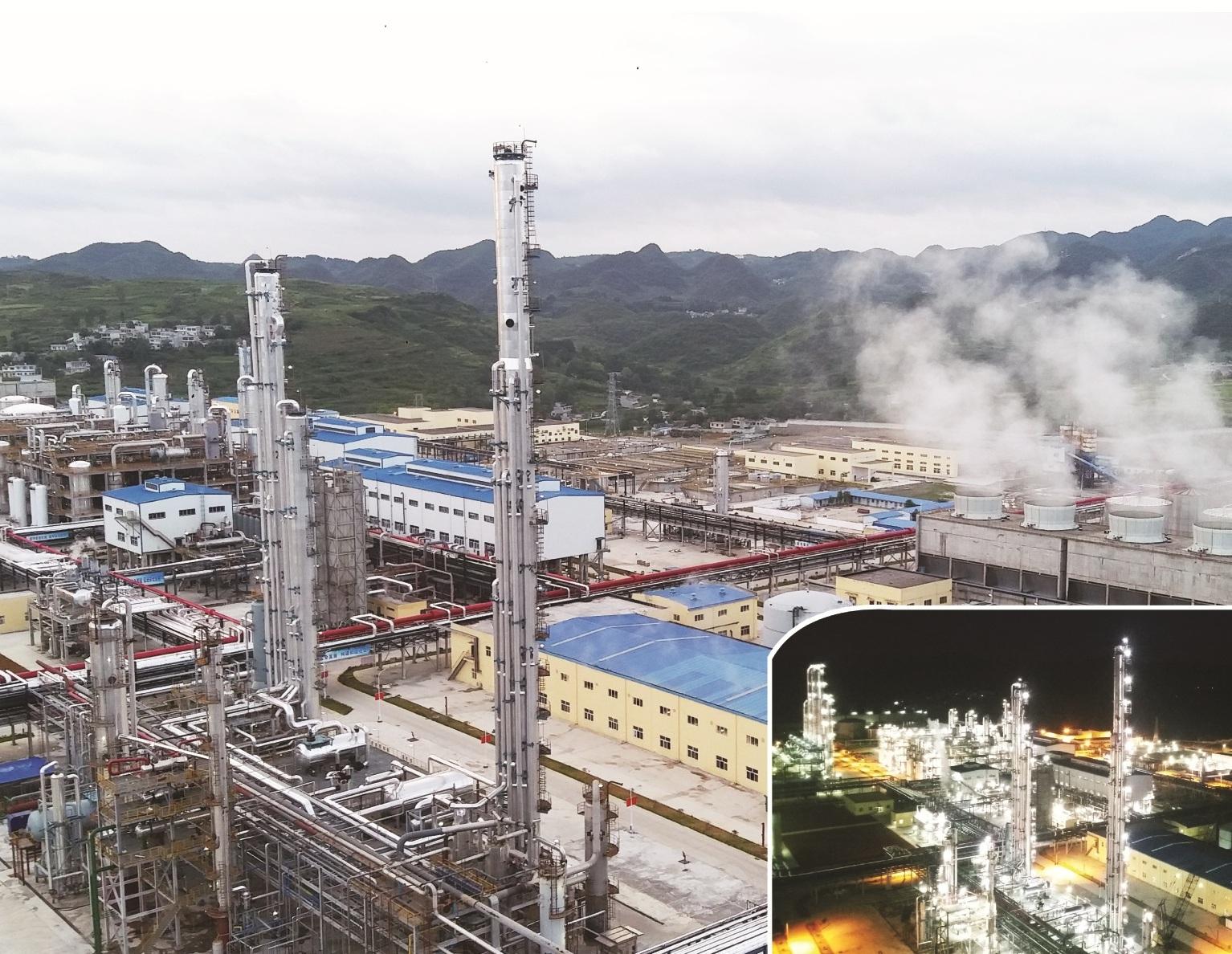 黔西DMC提純技術改造和乙二醇精餾綜合
