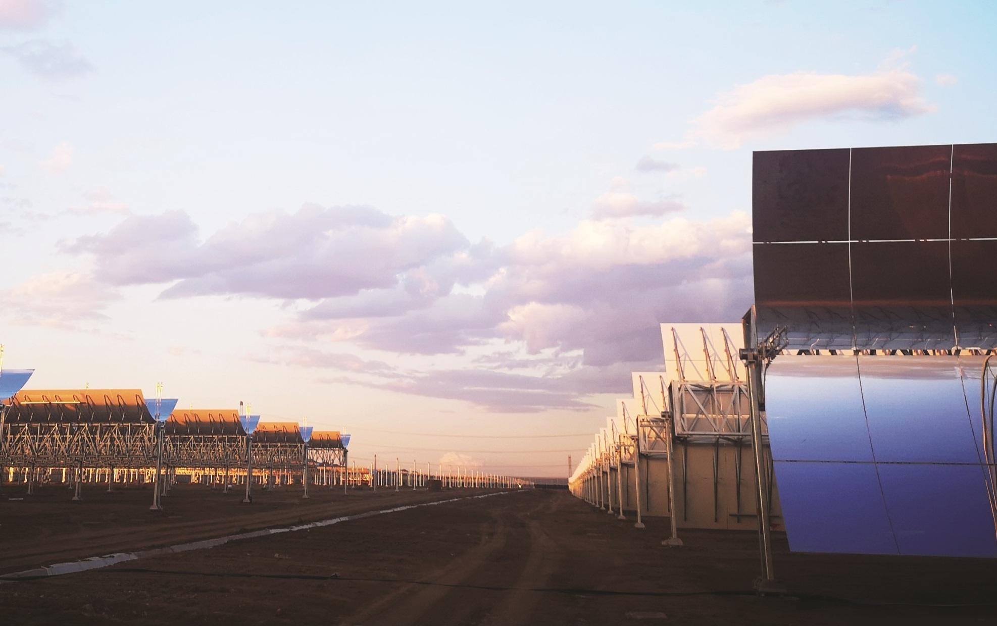 烏拉特中旗100MW導熱油槽式光熱項目熱傳儲熱島