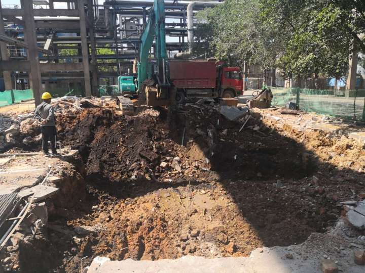 云南云天化红磷化工有限公司27万吨/年磷铵装置尾气深度治理项目开工简报