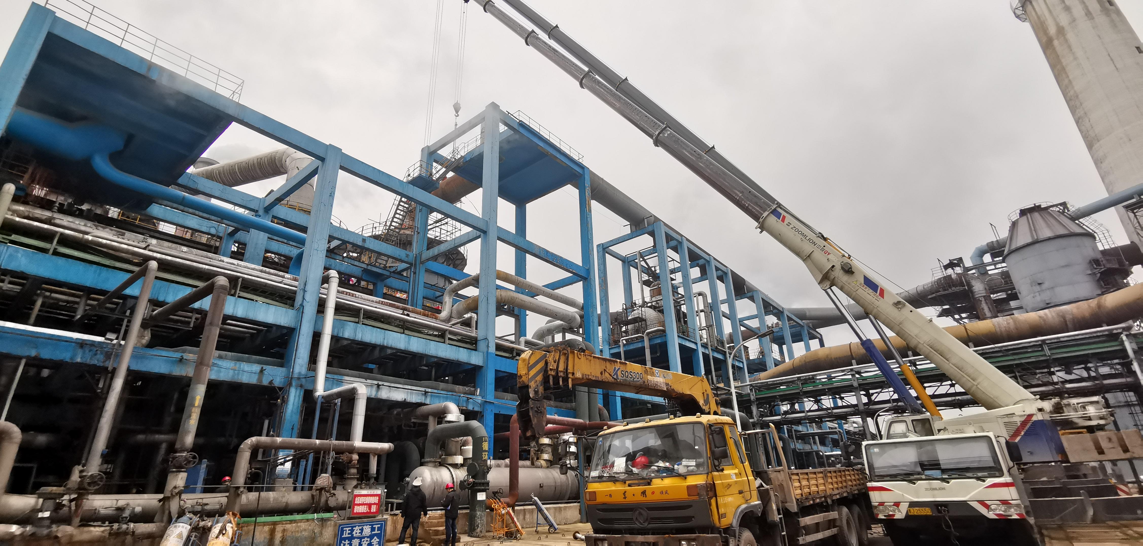瓮福2×40万吨/年硫铁矿制酸低温热能回收总承包项目顺利开车成功